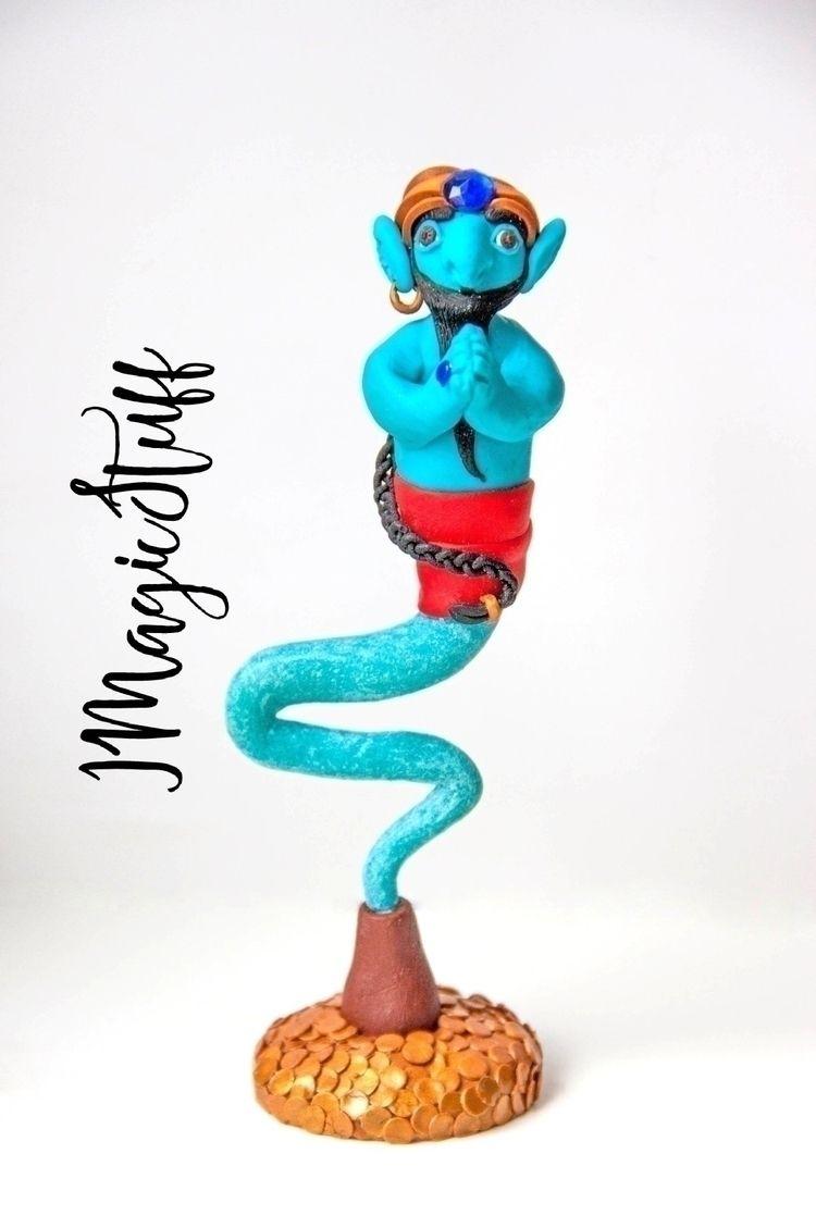 Big Blue Genie.:sparkles::spark - i_magicstuff | ello