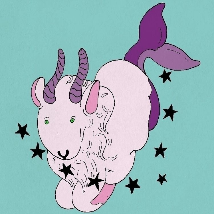 illustration, artwork, zodiac - jiwawaworld | ello