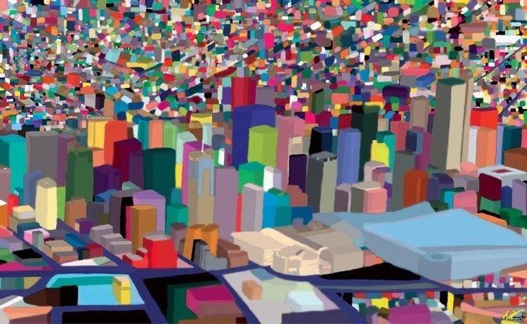 Denver Topher Straus Print Meta - bitfactory | ello