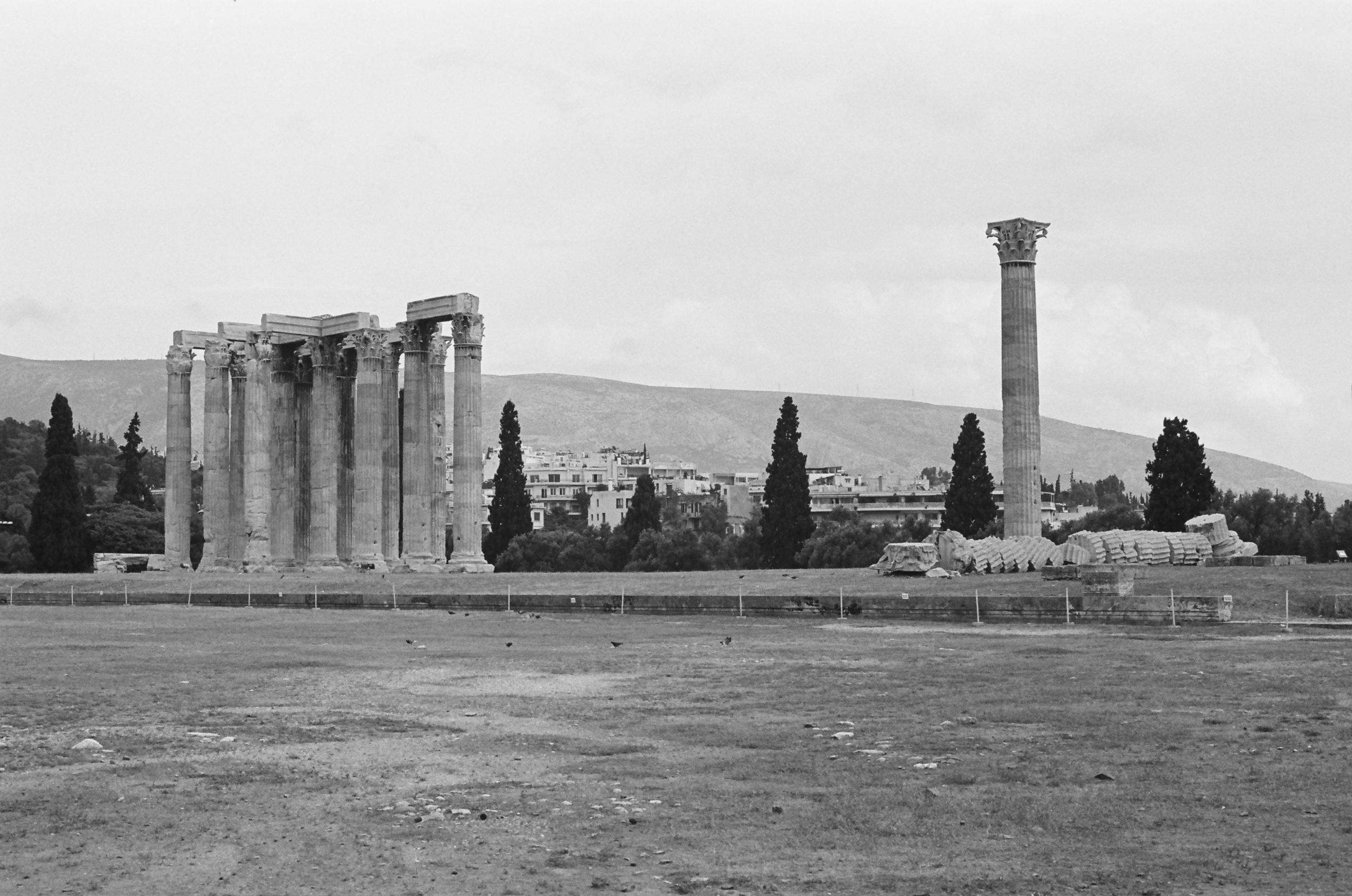 Temple Olympian Zeus 〜 Athens,  - ferreira-rocks | ello