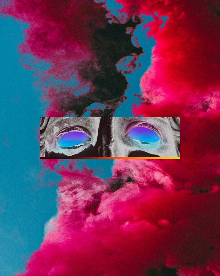• Éveil Instagram Prints - Abstract - dorianlegret | ello
