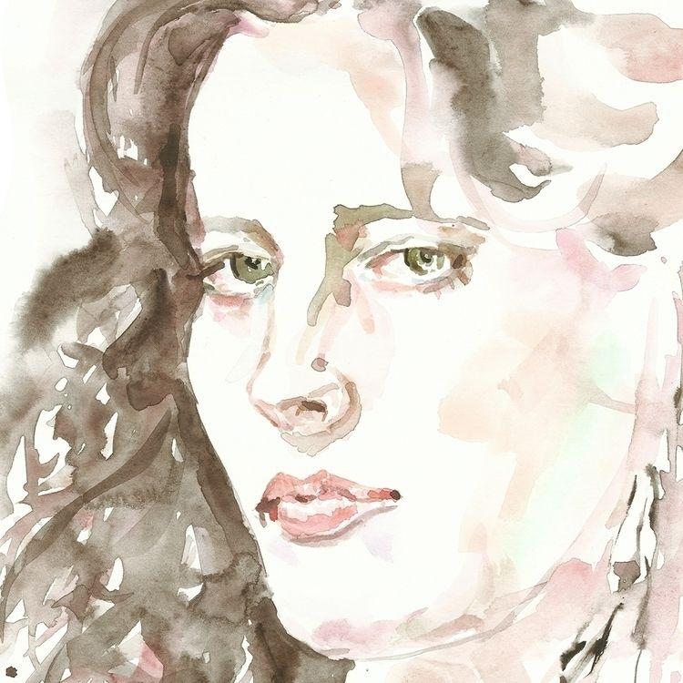 remember, watercolor painting - drawing - nekotangerine | ello