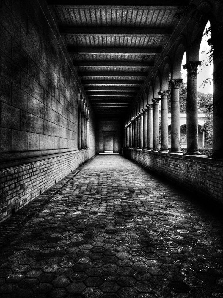 Monastery, Schloss Sanssouci, P - renspacemadness | ello