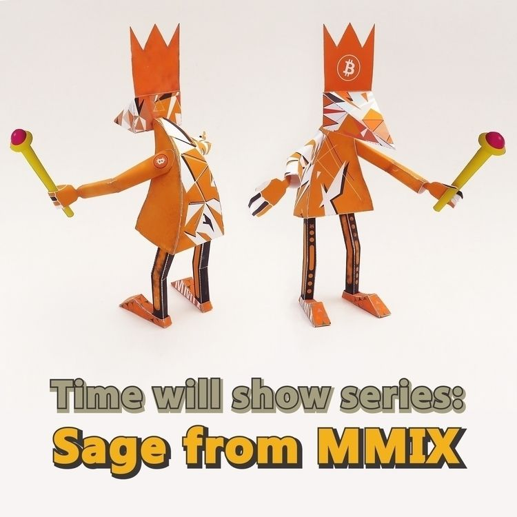 Sage MMIX, papertoy Time show s - zuubs   ello