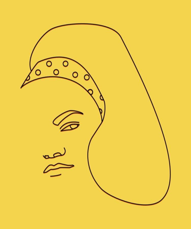 Eartha Kitt - minimalist, portrait - ilaviu | ello