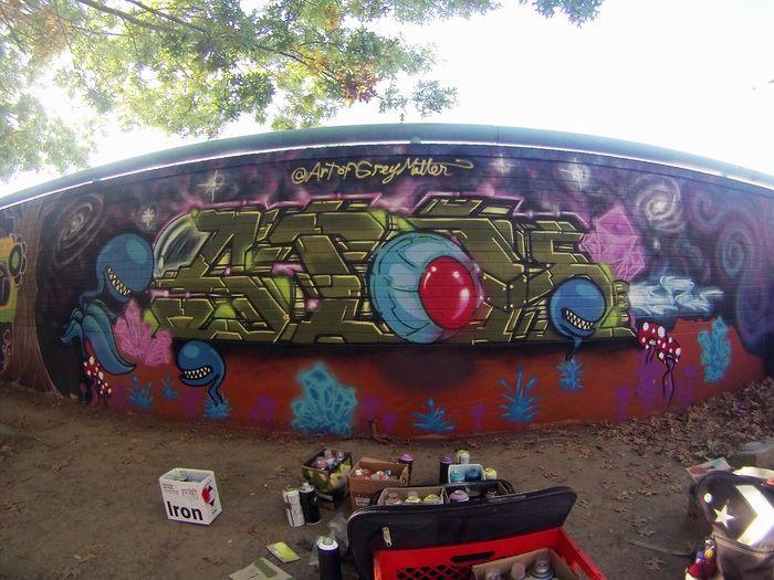 SICK Space, painted Wide Open W - greymatter33 | ello