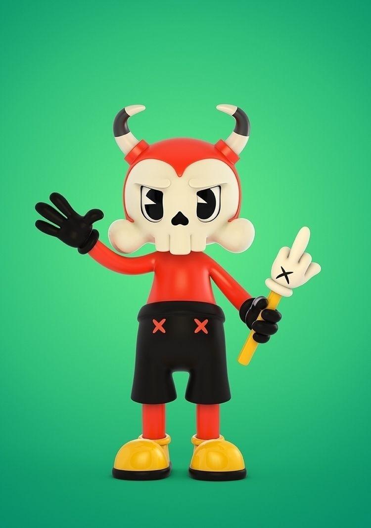 Daemon - designertoys, toydesign - theodoru | ello
