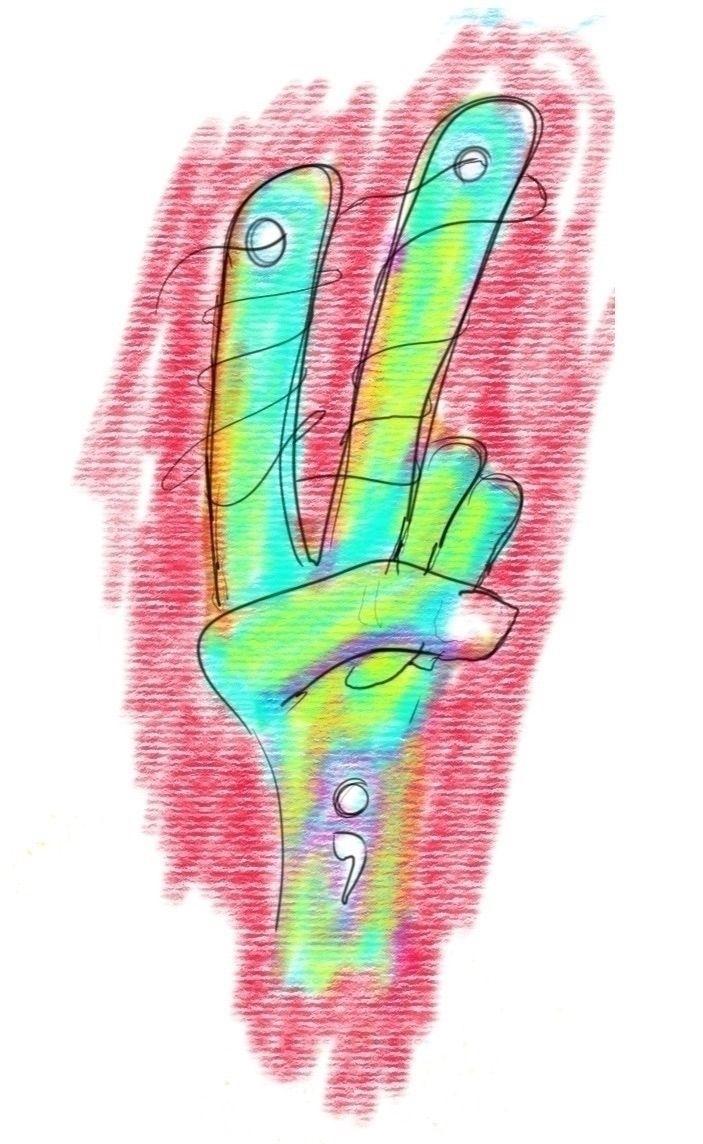 hand lasting peace... happy Mon - ajar | ello