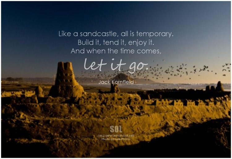 sandcastle, temporary. Build te - symphonyoflove   ello