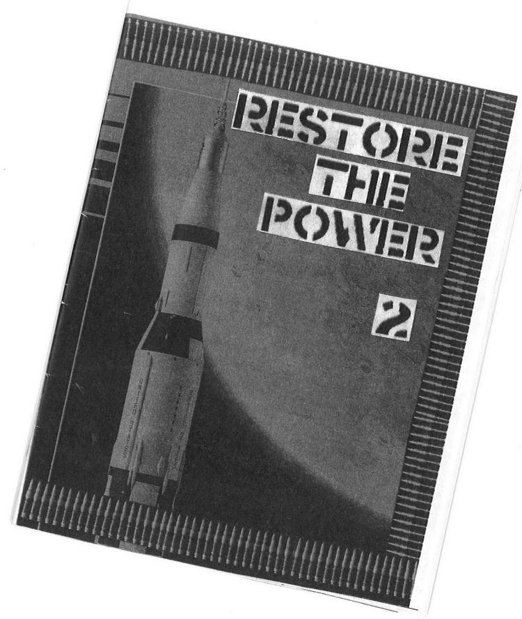 SOLD - restorethepower, minizine - nathangobrien | ello