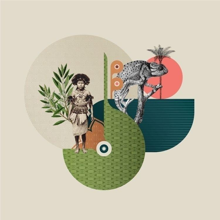 Composition  - collage, artwork - fabioissao | ello