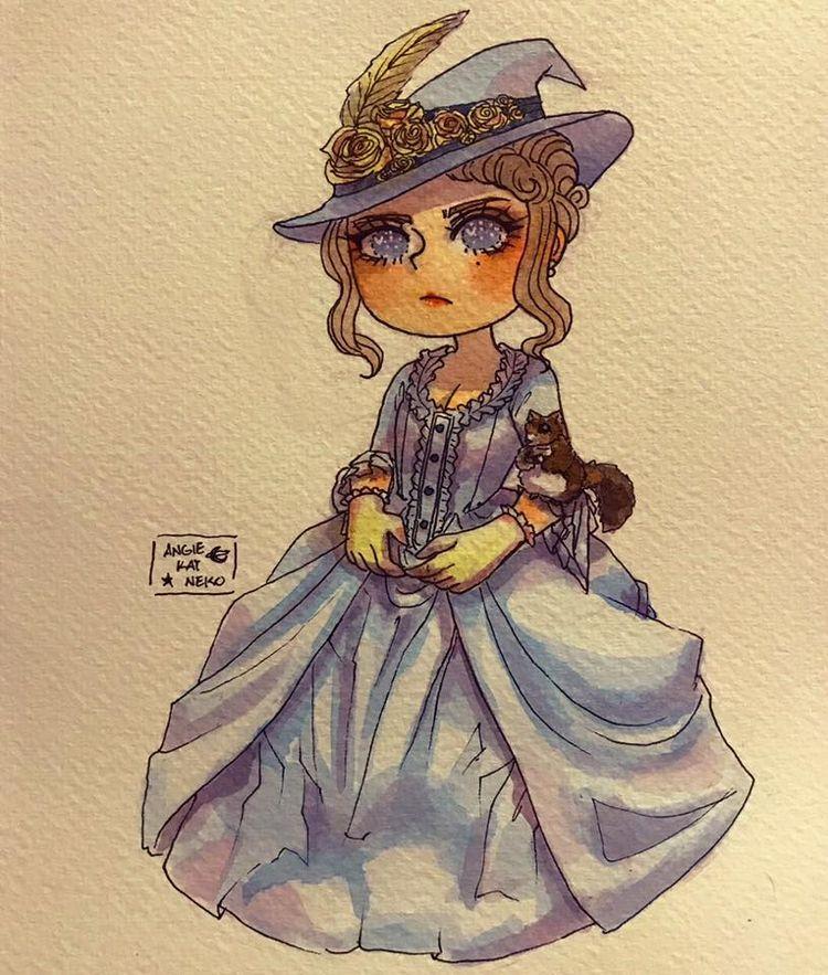 Inktober Day 22: Duchess Witch - angiekatneko | ello