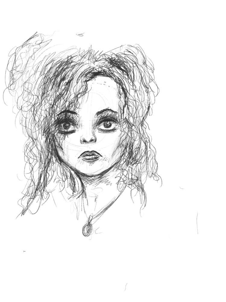 Inktober Day - Jolt Helena Bonh - smushbox | ello