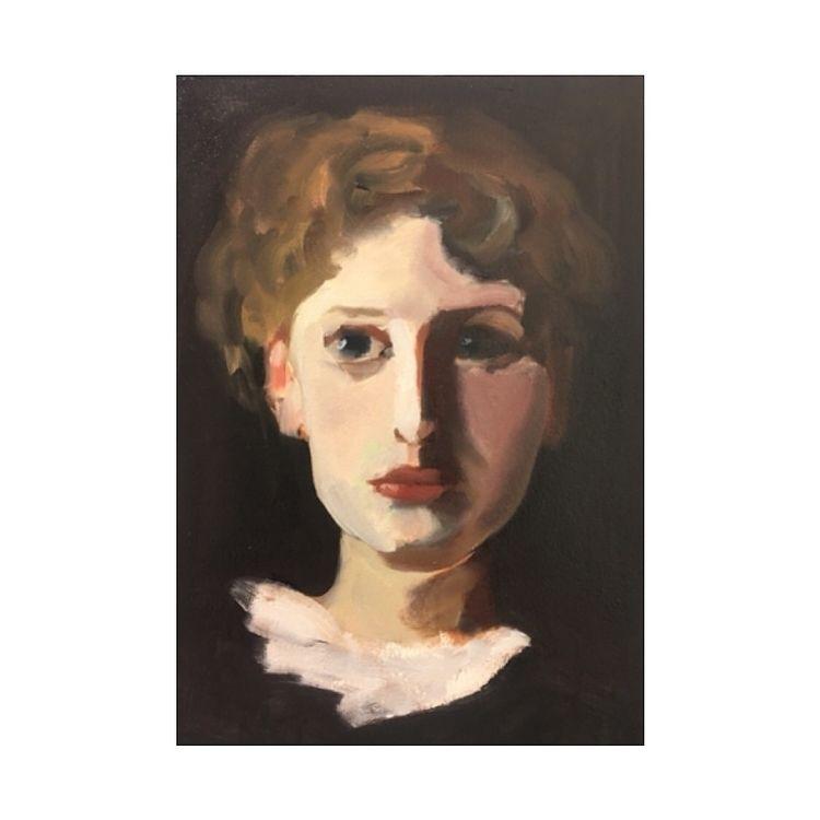 Sargent study - painting, art, portrait - yuliavirko   ello