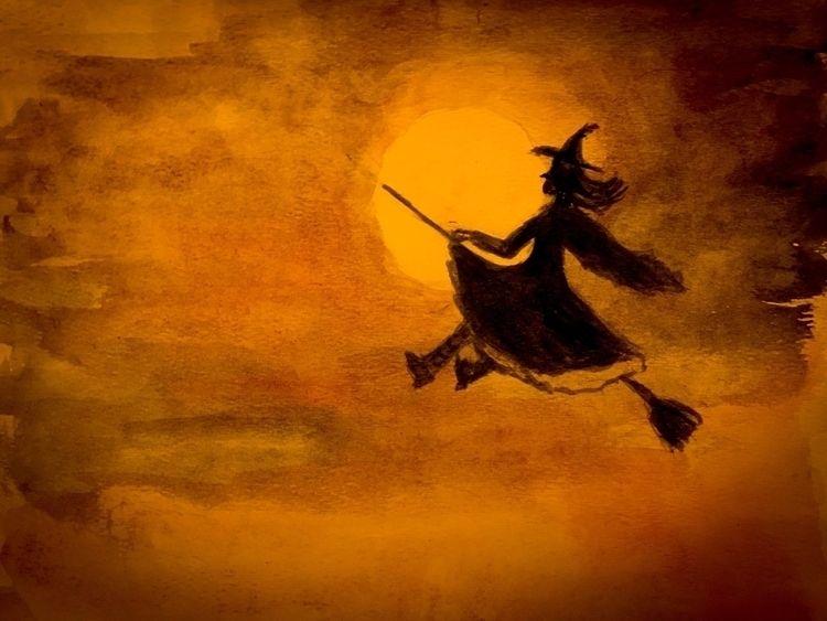 Happy Halloween!! Safe Flying - exinerartstudio | ello