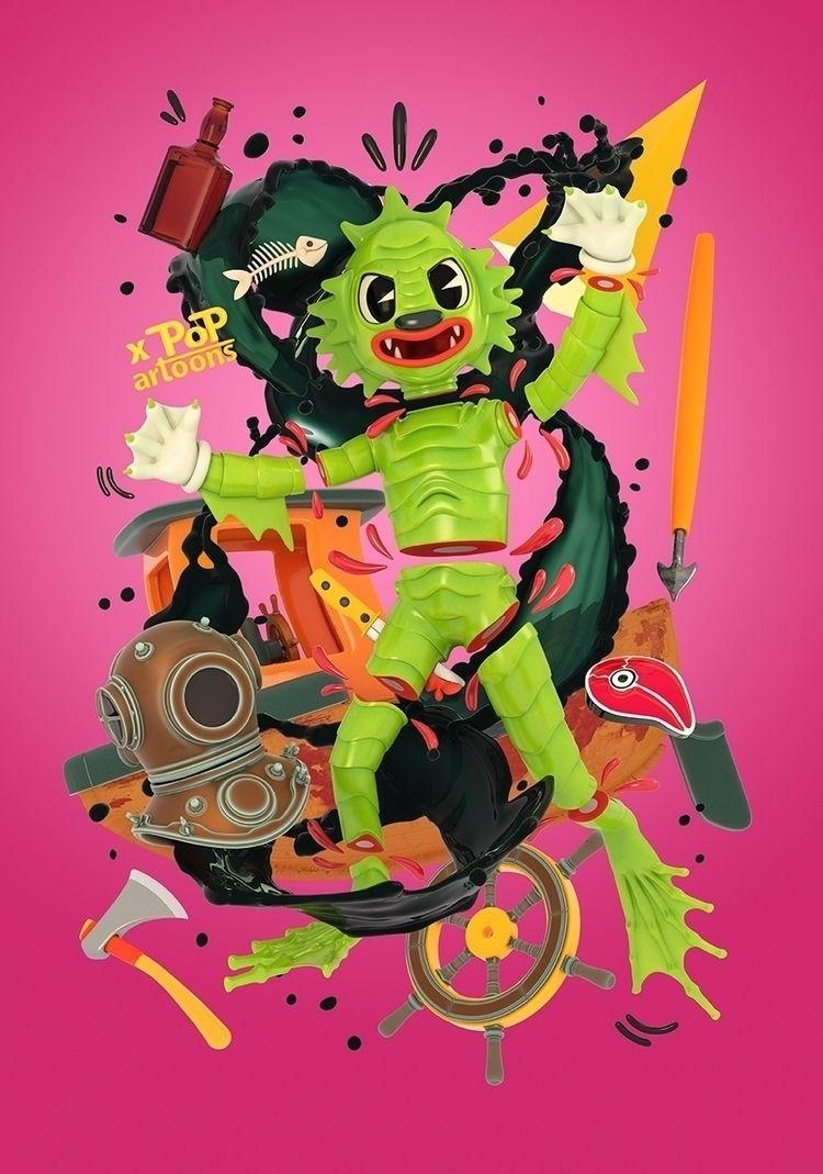 Happy Halloween  - creaturefromtheblacklagoon - theodoru | ello