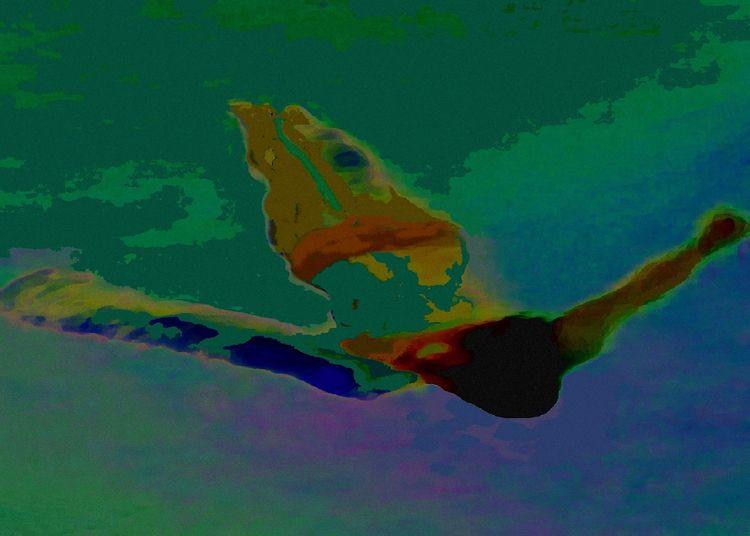 Theme: Resistance -'Figure Aqua - vesa25 | ello