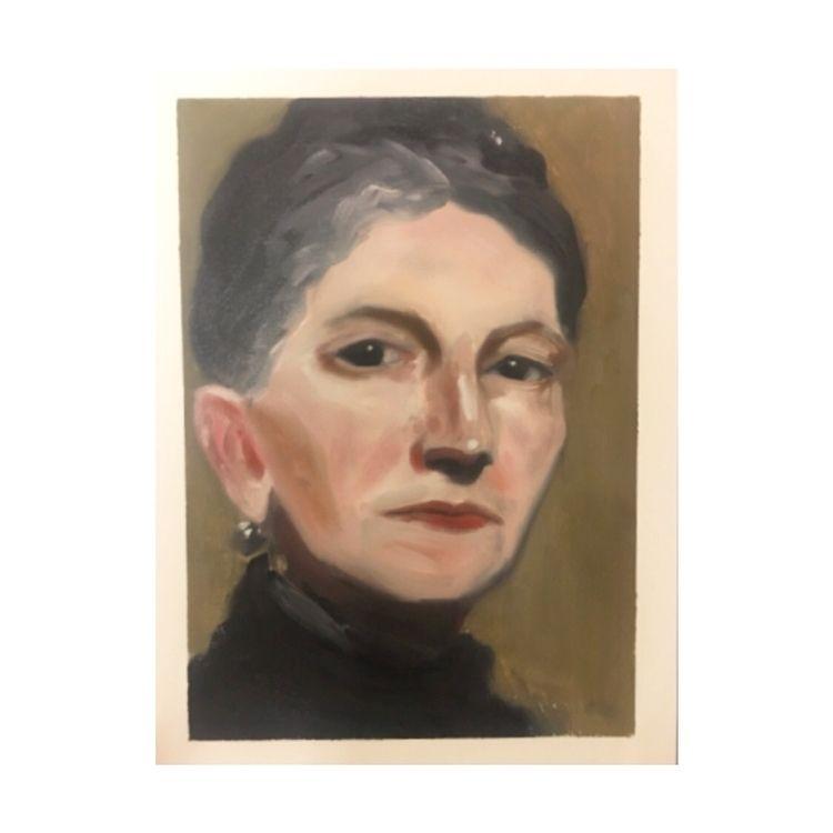 Sargent Study - paint, art, painting - yuliavirko   ello