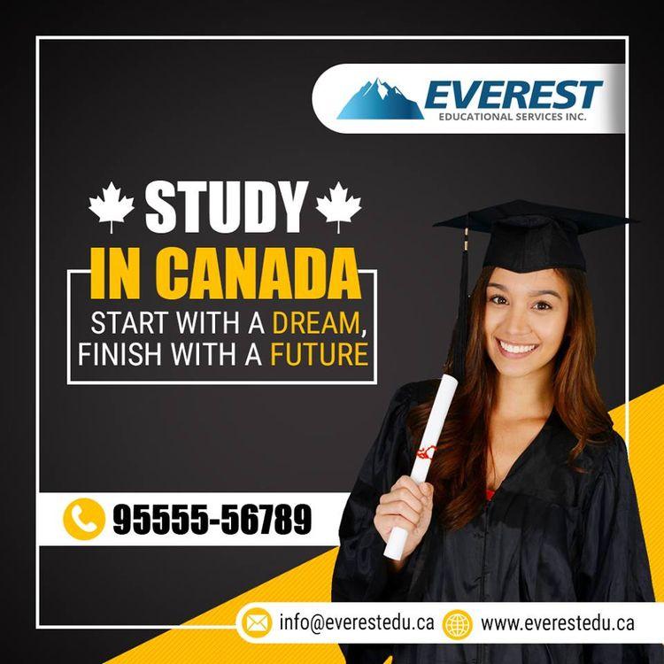 query Canada study visa? Meet E - everesteducational | ello