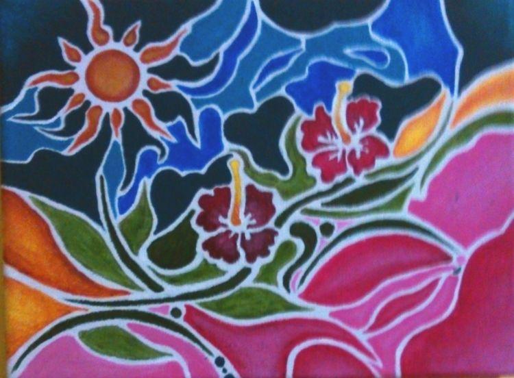 Acrylic Painting - kitythekat | ello