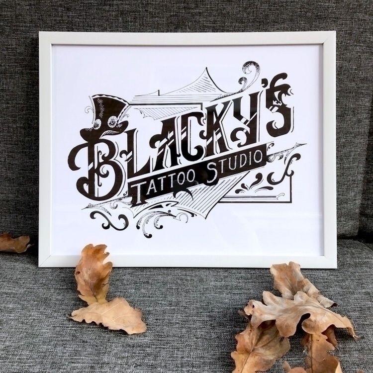 Tattoo Studio: Custom Lettering - rebecca_jane | ello