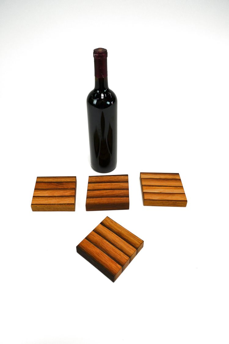 mini cutting board coasters ret - winecountrycraftsman | ello