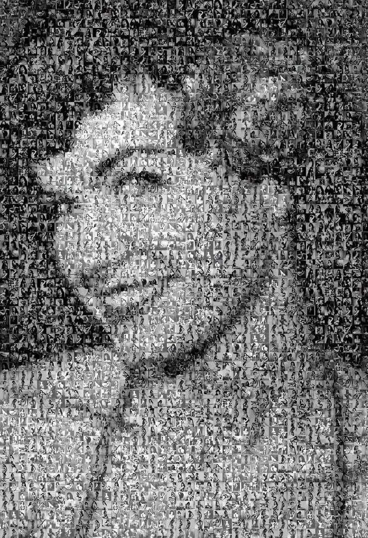 Bettie Page Mosaic - pearsstudio | ello