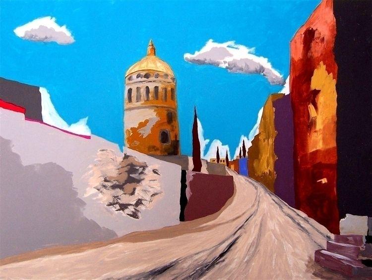 STAND TALL DREAMS ✚ San Miguel  - artisticojuancarlos | ello