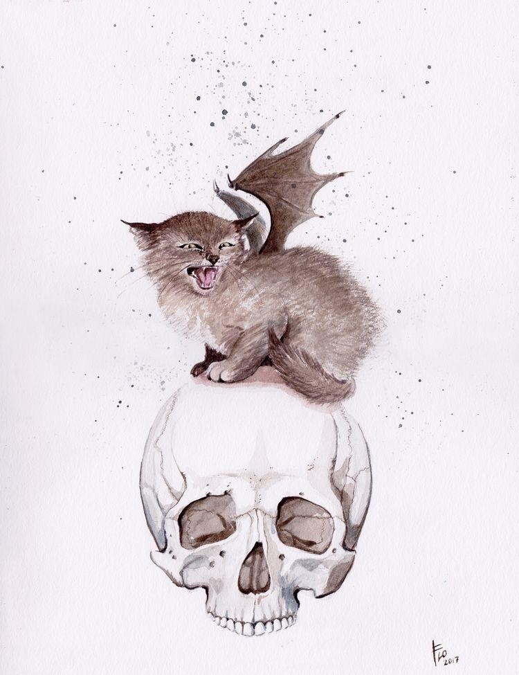 Bat Cat work pop show SALE! Ori - flolmi   ello