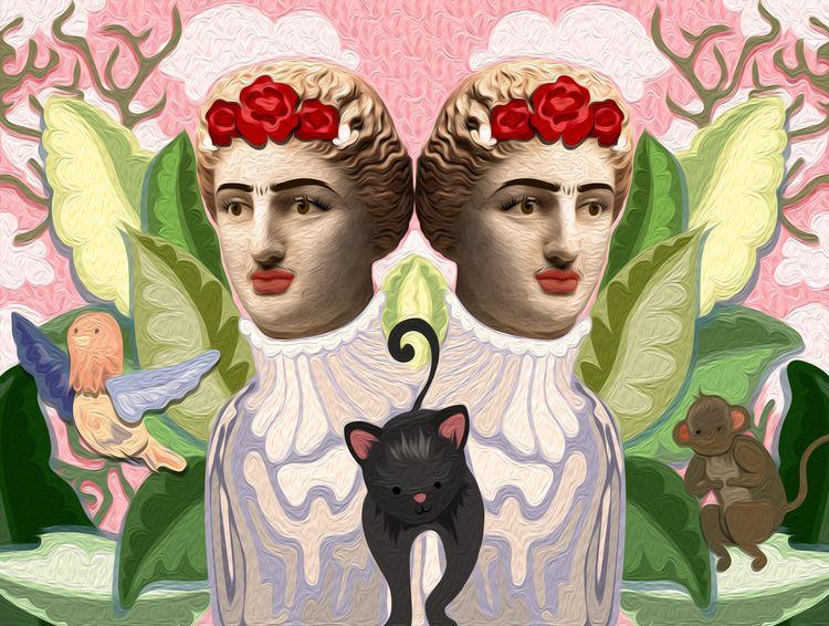 Frida Kahlo portraits scrolling - joannaskiba | ello