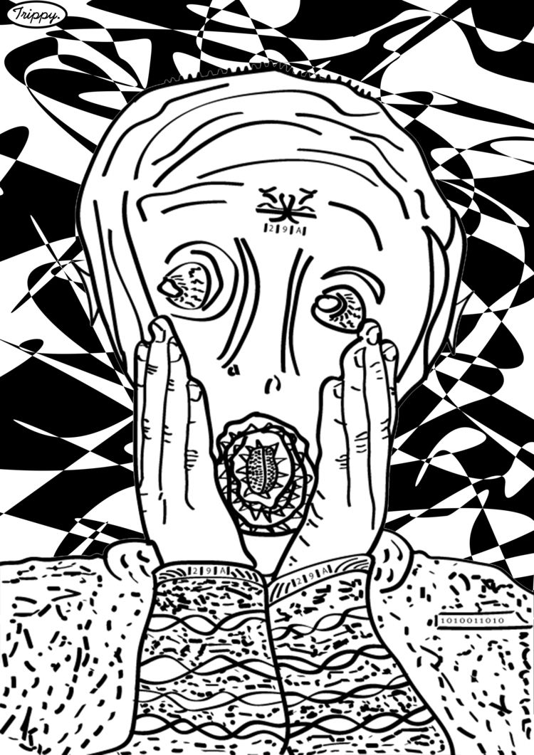 Abomination Scream Trippy - trippyholloway | ello