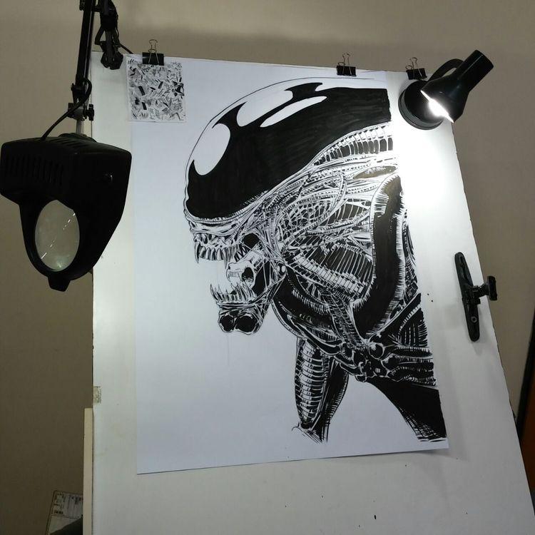 Daniel Mendoza (Arg - Illustrarion - fantoche | ello