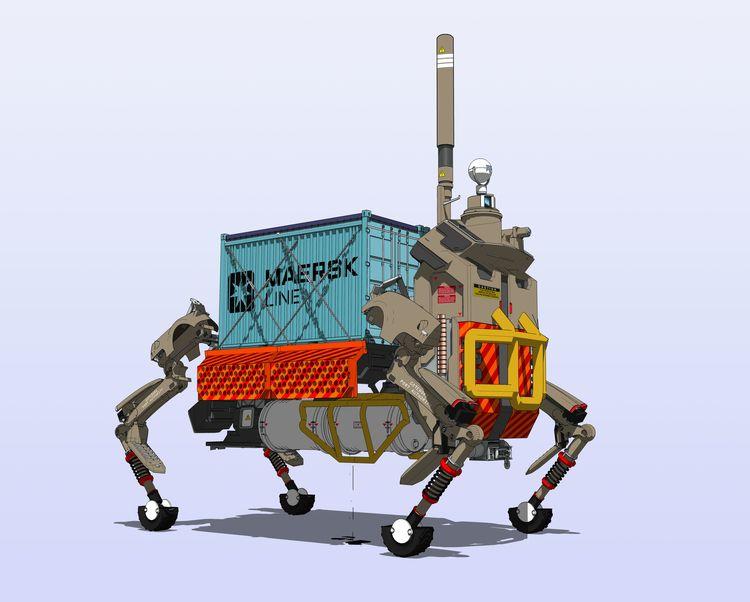 Port Gothenburg Big Dog Automat - scifi88 | ello