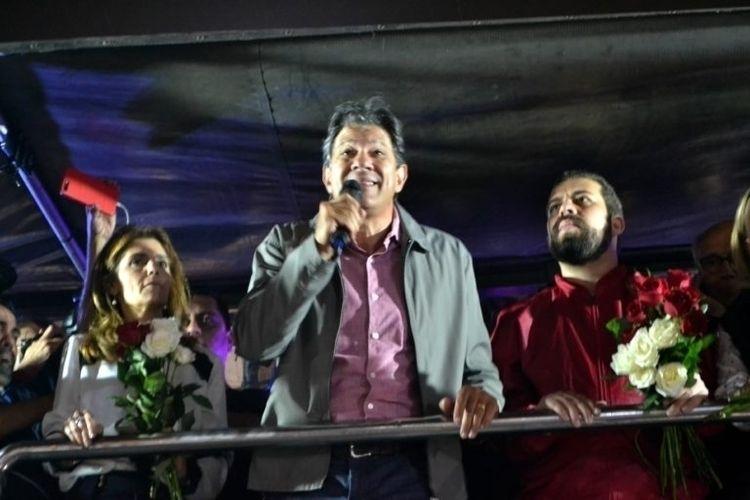 São Paulo: Ato pró Haddad Largo - thiagodias_ | ello