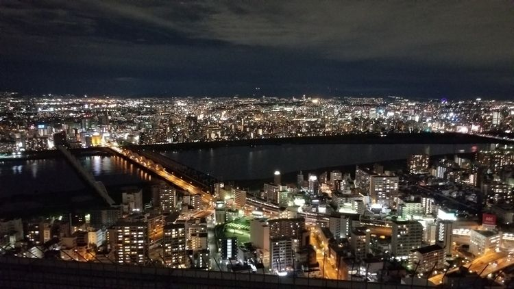 2017 - NightView, Osaka, Japan - raymondsw | ello