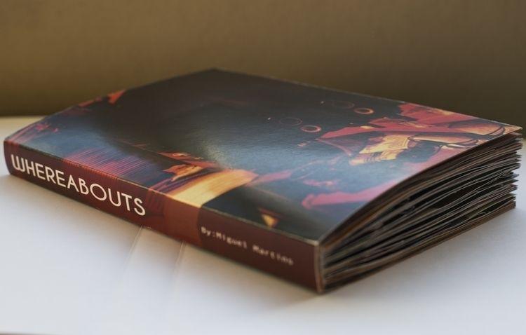 Wereabouts Artist Book work aim - honigmann | ello
