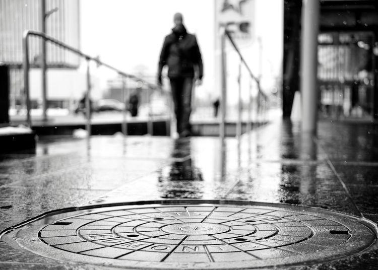 Manhole cover Edmonton, Alberta - george_s_photo | ello