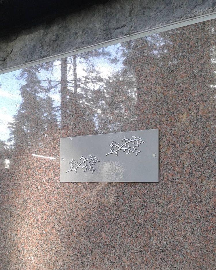 Bokningsbar plats bakom slipad  - skogskyrkogardar | ello
