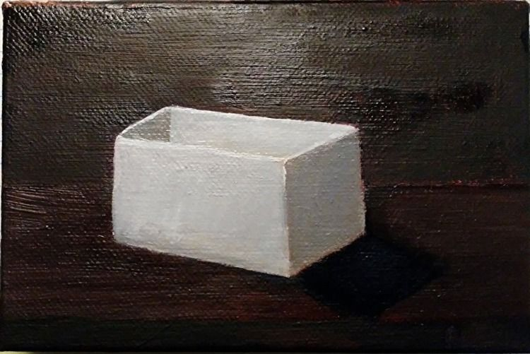 Empty Box 4 6 oil canvas painti - robinccpoole | ello