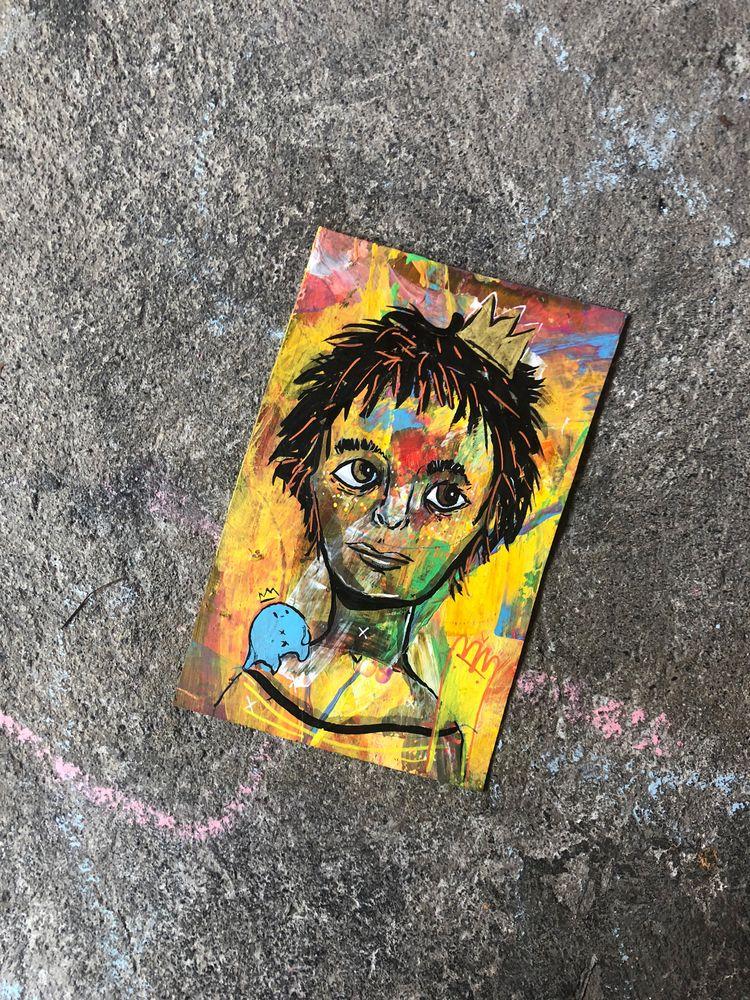 Weirdo - elloillustration, portrait - hopeazul   ello