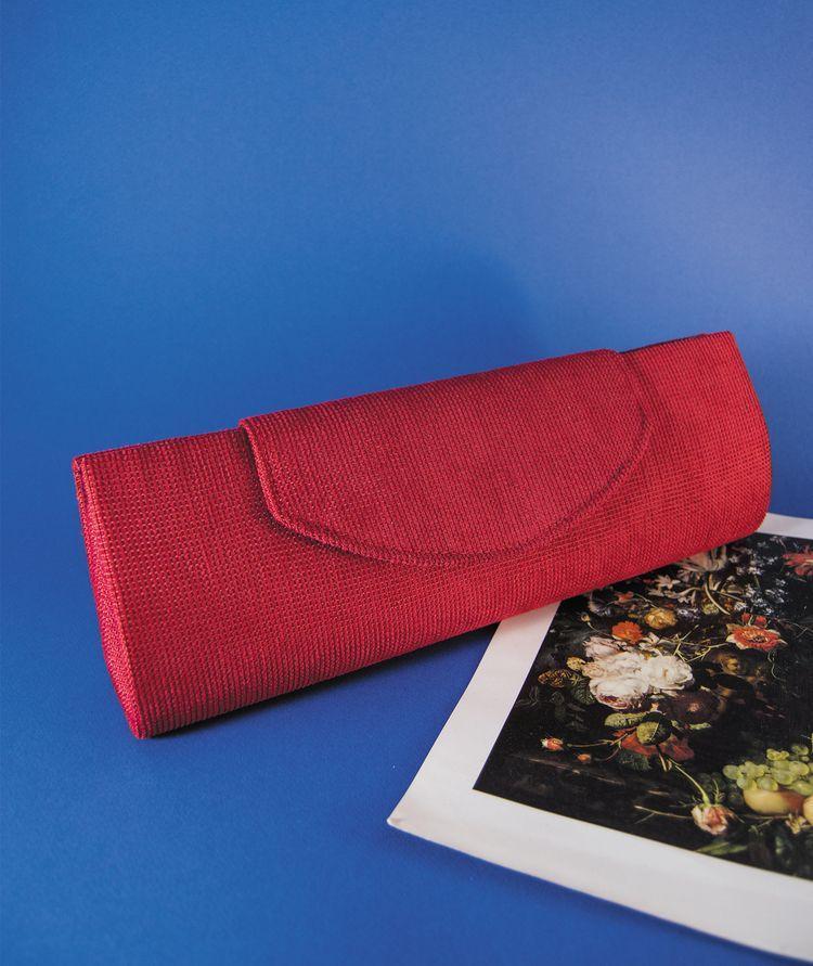 Red Purse Tercia. handmade piec - tercia | ello
