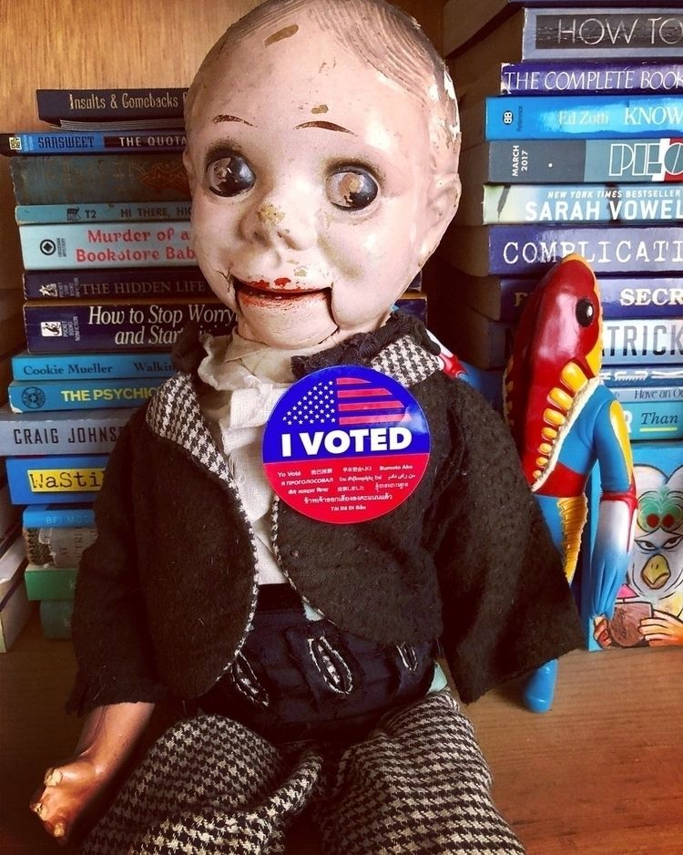 DUMMY! Vote TODAY! Find show po - bonniegrrl | ello