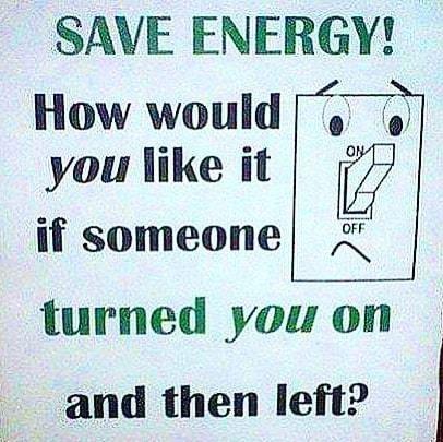 feel turned left? sense - SaveEnergy - vicsimon | ello