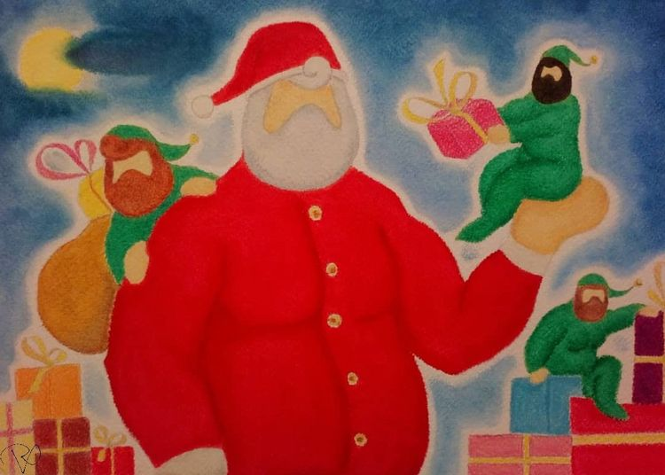 Christmas // Commissioned 2018 - redphurart | ello