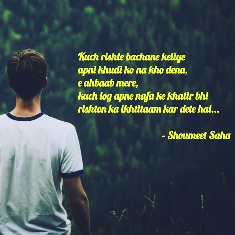 poetry, shayari, shoumeetsahapoetry - shoumeet_saha_dxb | ello