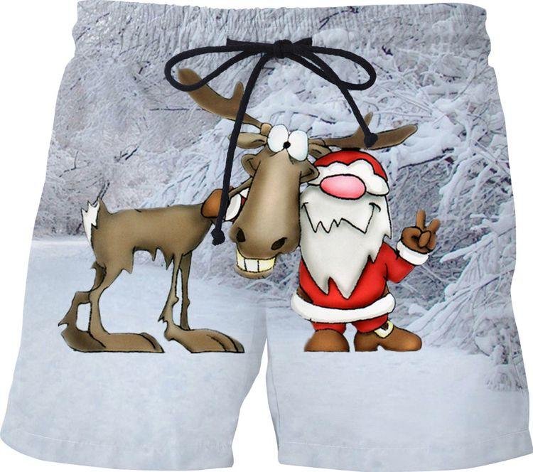 Holiday Santa Reindeer Swim Sho - erikakaisersot | ello