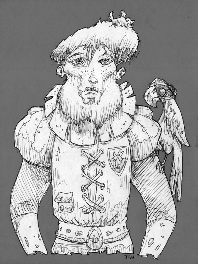 Lord Birds title Scarecrow clas - jju | ello