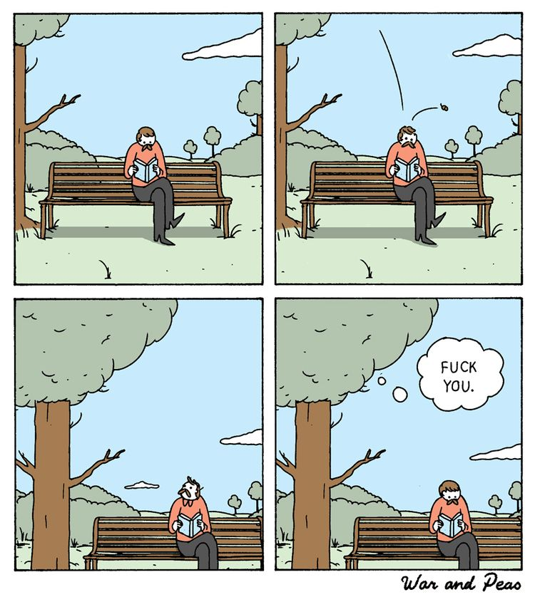 Tree - comic, webcomic, warandpeas - warandpeas | ello