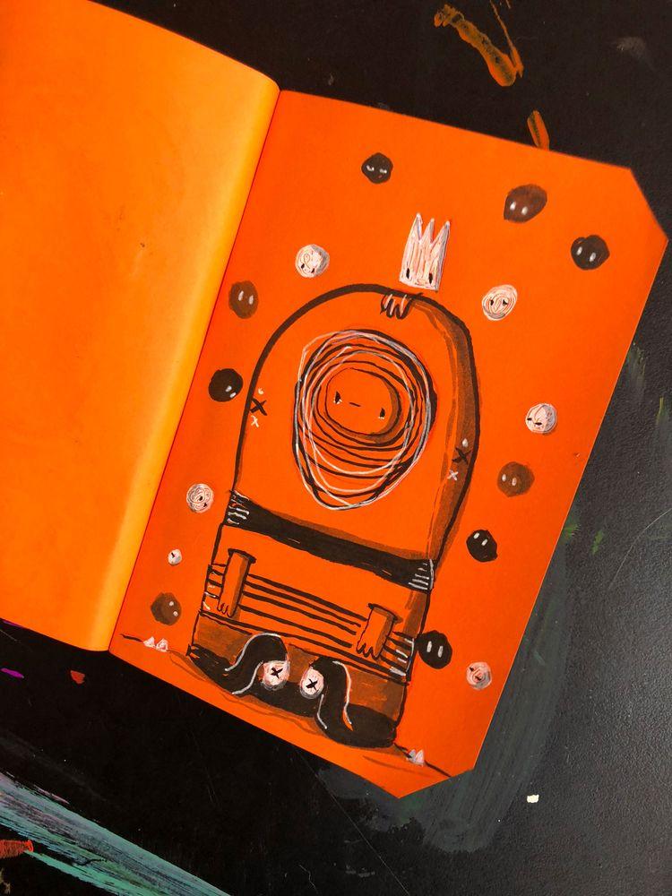 lot thoughts - ink, sketchbook, inktober - hopeazul   ello