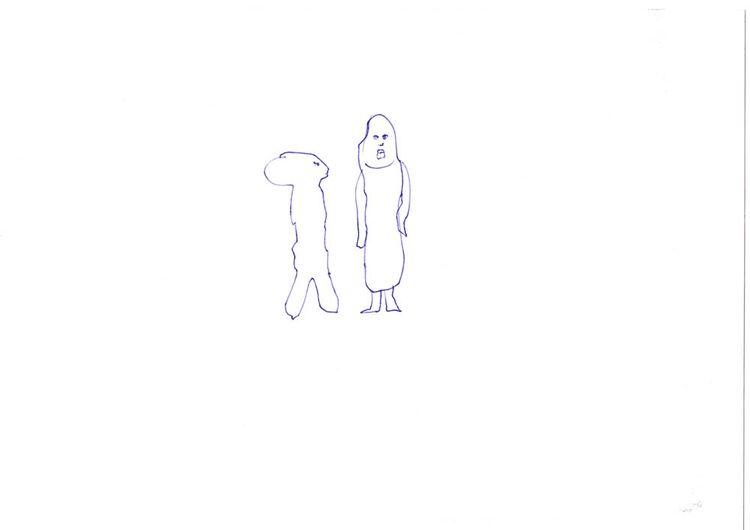Drawing 38/2018: alien dress - art - minitz   ello